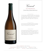 2015 Girard Chardonnay, Dutton Ranch, Russian River Valley