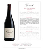 2016 Girard GSM Red Blend, Napa Valley