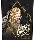 2015 Girl and Dragon Pinot Grigio, Veneto