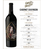2015 Girl and Dragon Cabernet Sauvignon Golds