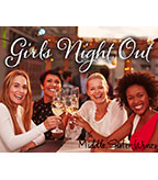 Middle Sister Girls Night Out Display