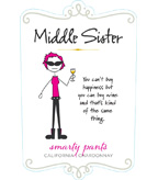 Middle Sister Smarty Pants Chardonnay - DOW
