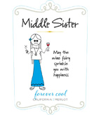 Middle Sister Forever Cool Merlot - NEW