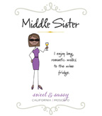 Middle Sister Sweet and Sassy Moscato - DOW