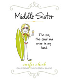 Middle Sister Surfer Chick Sauvignon Blanc - NEW