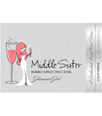 Middle Sister Glamour Girl Bubbly Sweet Pink Wine