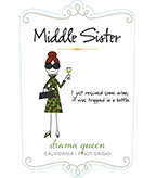 Middle Sister Drama Queen Pinot Grigio - DOW #3