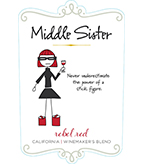 Middle Sister Rebel Red Red Table Wine - DOW #2