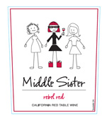 Middle Sister Rebel Red Red Table Wine