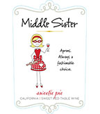 Middle Sister Sweetie Pie Sweet Red Table Wine - DOW#2