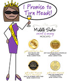 Middle Sister Sweet & Sassy Medals