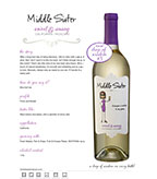 Middle Sister Sweet and Sassy Moscato - DOW #3