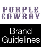 Purple Cowboy Brand Guidelines
