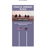 Purple Cowboy Case Card