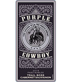2015 Purple Cowboy Trail Boss, Cabernet Sauvignon, Paso Robles