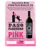 2017 Paso Pardners in Pink Table Tent