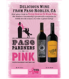 2017 Paso Pardners in Pink Table Tent + Clayhouse