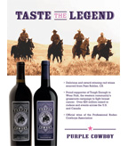 Purple Cowboy TETWP Sellsheet 2015