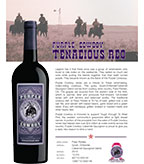 Purple Cowboy Tenacious Red, Paso Robles