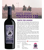 2014 Purple Cowboy Tenacious Red, Paso Robles