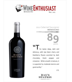 2012 Ray's Station Cabernet Sauvignon - Wine Enthusiast
