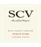 SCV Pinot Noir, Koos Family Vineyards