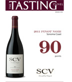 2011 SCV Pinot Noir 90 pts - Jan 2015