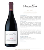 2015 SCV Syrah, Ocidental Road Vineyard