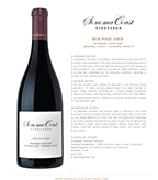 2015 SCV Pinot Noir, Petersen Vineyard