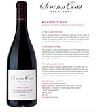 2014 SCV Pinot Noir, Antonio Mountain Vineyard