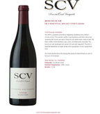 2010 SCV Syrah, Occidental Road Vineyards