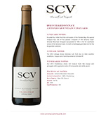 2013 SCV Chardonnay, Antonio Mountain Vineyard