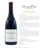2015 SCV Pinot Noir, Antonio Mountain Vineyard