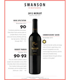 2012 Swanson Merlot Sell Sheet - Collective