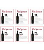 2012 Swanson Merlot - Wine Spectator - Shelf Talker
