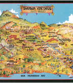 Swanson Napa Valley Map