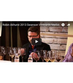 Robin Akhurst 2013 Swanson Vineyards Merlot (YouTube)