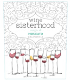 Wine Sisterhood Magical Moscato, California