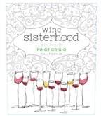 Wine Sisterhood Passionate Pinot Grigio, California